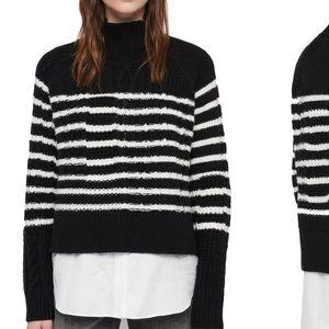 All Saints Sweaters - AllSaints Mari Roll Neck Jumper